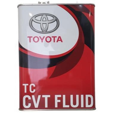 Трансмиссионное масло Toyota CVT Fluid TC 4 литра.