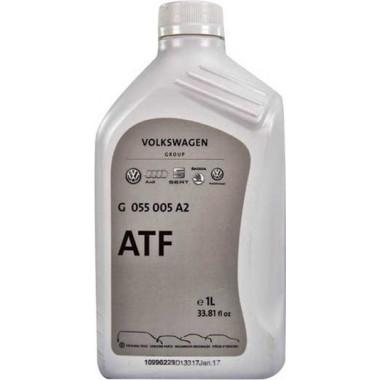 Трансмиссионное масло АКПП VAG ATF G055005A2 1 литр.