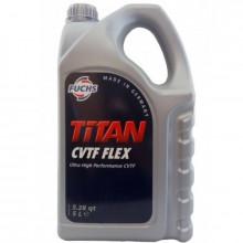 Трансмиссионное масло Titan CVTF Flex 5 литров.