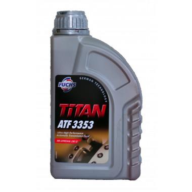Трансмиссионное масло Castrol для АКПП Titan ATF 3353 1 литр.