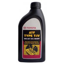Трансмиссионное масло Toyota для АКПП ATF Type T-IV 0,946 литра.