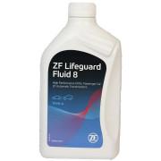 Трансмиссионное масло АКПП ZF Lifeguard Fluid 8 1 литр.