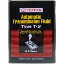 Трансмиссионное масло АКПП Toyota ATF Type T-IV (Азия) 4 литра.