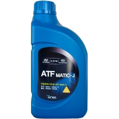 Трансмиссионное масло Hyundai Kia для АКПП ATF Matic-J (RED-1) 1 литр.