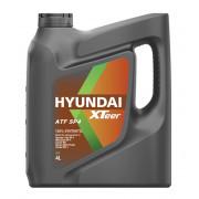 Трансмиссионное масло Hyundai Xteer для АКПП SP-4 Gear 4 литра.