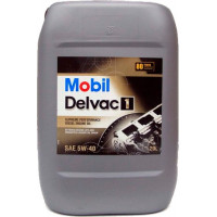 Моторное масло Mobil Delvac 1 5W-40 20 литров.
