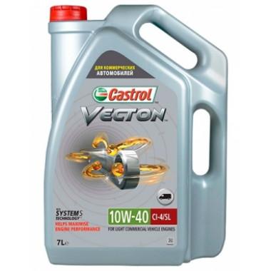 Моторное масло Castrol Vecton 10W-40 E4/E7 7 литров.