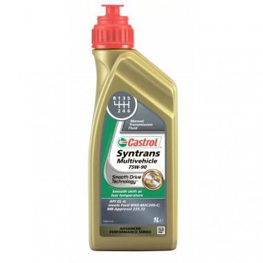 Трансмиссионное масло Castrol для МКПП Syntrans Multivehicle 75W-90 1 литр.