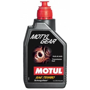 Трансмиссионное универсальное масло Motul MOTYLGEAR 75W-80 1 литр.