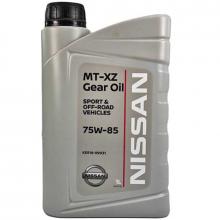 Трансмиссионное масло Nissan для МКПП MT-XZ Gear Oil 75W-85 1 литр.
