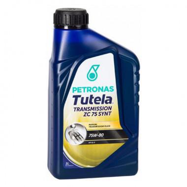 Трансмиссионное масло Petronas Tutela для МКПП TUTELA ZC 75 75W-80 1 литр.