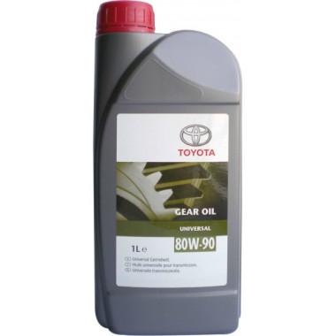 Трансмиссионное масло Toyota для МКПП Toyota Universal 80W-90 1 литр.