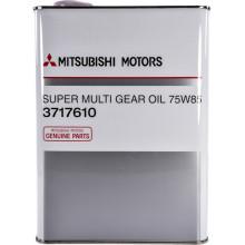 Трансмиссионное масло Mitsubishi для МКПП Super Multi Gear Oil 75W-85 4 литра.