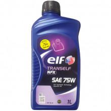 Трансмиссионное масло ELF для МКПП Tranself NFX 75W 1 литр.