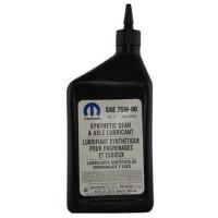 Трансмиссионное масло Mopar для МКПП 75W-90 0,946 литра. (68218655AA)