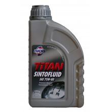 Трансмиссионное масло для МКПП Titan SINTOFLUID 75W-80 1 литр.