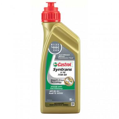 Трансмиссионное масло Castrol для МКПП Syntrans V FE 75W-80 1 литр.