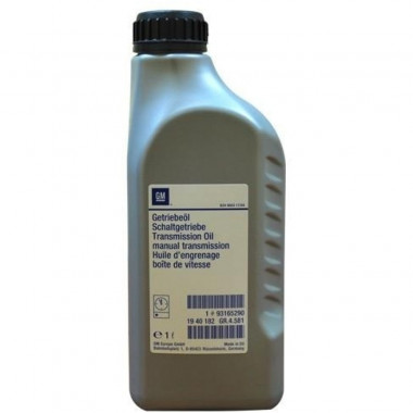 Трансмиссионное масло GM для МКПП Manual Transmission 75W-85 1 литр.