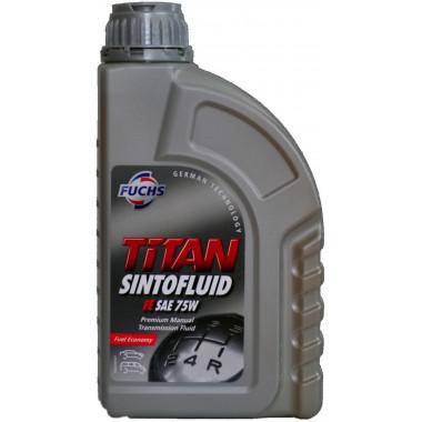 Трансмиссионное масло Fuchs Titan для МКПП SINTOFLUID FE 75W 1 литр.