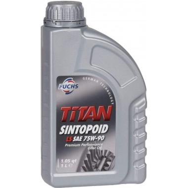 Трансмиссионное универсальное масло Fuchs Titan SINTOPOID LS 75W-90 1 литр.