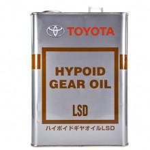 Трансмиссионное масло для мостов Toyota Hypoid Gear Oil LSD 85W-90 GL-5 4 литра.