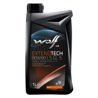 Трансмиссионное масло Wolf для мостов EXTENDTECH 80W-90 LS 1 литр.