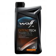 Трансмиссионное масло Wolf для мостов EXTENDTECH 75W-80 1 литр.