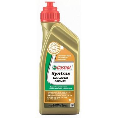 Трансмиссионное универсальное масло Castrol Syntrax Universal 80W-90 1 литр.