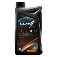 Трансмиссионное масло Wolf для мостов EXTENDTECH 80W-90 1 литр.