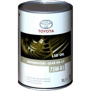 Трансмиссионное масло Toyota для мостов LSD LX 75W-85 1 литр.