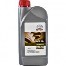 Трансмиссионное масло для мостов Toyota Differential 75W-90 GL-5 1 литр.