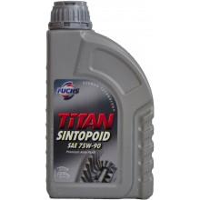 Трансмиссионное универсальное масло Fuchs Titan SINTOPOID 75W-90 1 литр.