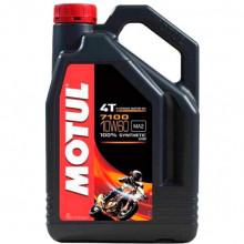 Масло для мототехники MOTUL 7100 4T 10W-60 (845541) 4 литра.