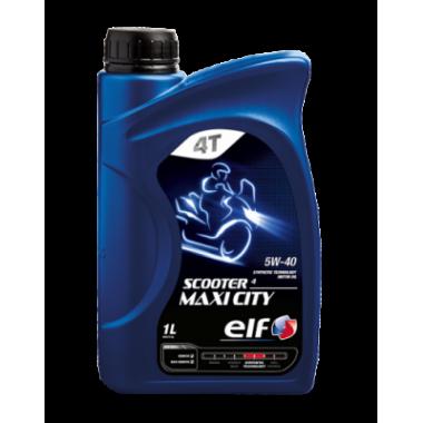 Моторное масло ELF SCOOTER 4Т MAXI CITY 5W-40 1 литр.