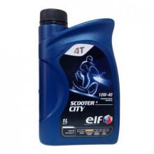 Моторное масло ELF SCOOTER 4Т CITY 10W-40 1 литр.
