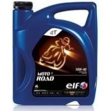 Моторное масло ELF MOTO 4Т ROAD 10W-40 4 литра.