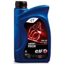 Моторное масло ELF Moto 4Т Tech 10W-50 1 литр.