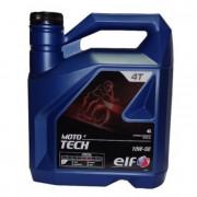 Моторное масло ELF Moto 4Т Tech 10W-50 4 литра.