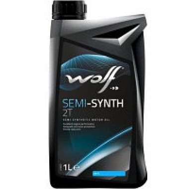 Моторное масло SEMI-SYNTH 2T 1 литр.