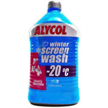 Жидкость стеклоочистителя зимняя EVO Alycol Winter Cherry Blossom -20°C 2 литра.