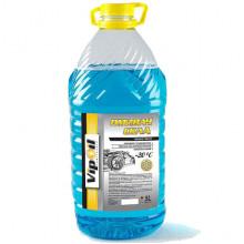 Жидкость стеклоочистителя зимняя VipOil -20°C Морський бриз 5 литров.
