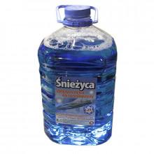 Жидкость стеклоочистителя зимняя СНЕЖИЦА -25°C Баблгам 5 литров.
