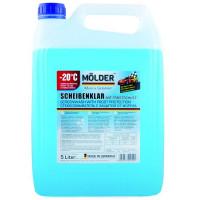 Жидкость стеклоочистителя зимняя Molder SPORT -20°C 5 литров.