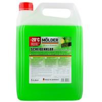 Жидкость стеклоочистителя зимняя Molder LIME -20°C 5 литров.