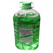 Жидкость стеклоочистителя зимняя СНЕЖИЦА -25°C Яблоко 5 литров.