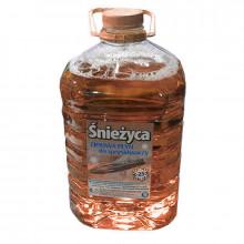Жидкость стеклоочистителя зимняя СНЕЖИЦА -25°C Карамель 5 литров.