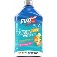 Стеклоочиститель зимний концентрат EVO X Winter Citrus Breeze -40°C 2 литра.