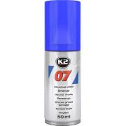 Силиконовая смазка (очиститель) K2 007 50 мл.