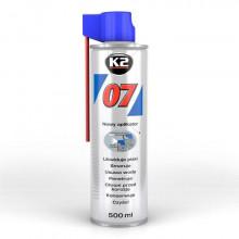 Силиконовая смазка (очиститель) K2 007 500 мл.