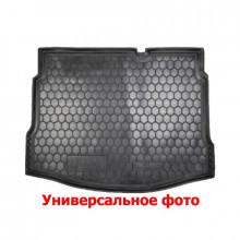 Автомобильный коврик в багажник FIAT Doblo (2010>) (5-7мест) длин. База AVTO-Gumm